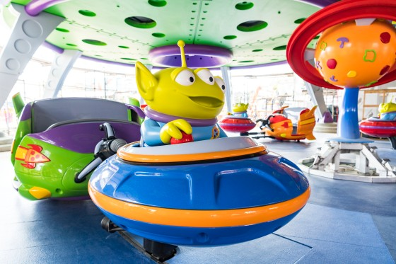 First Look: Alien Swirling Saucers Vehicles Coming to the New Toy Story Land at Disney's Hollywood Studios