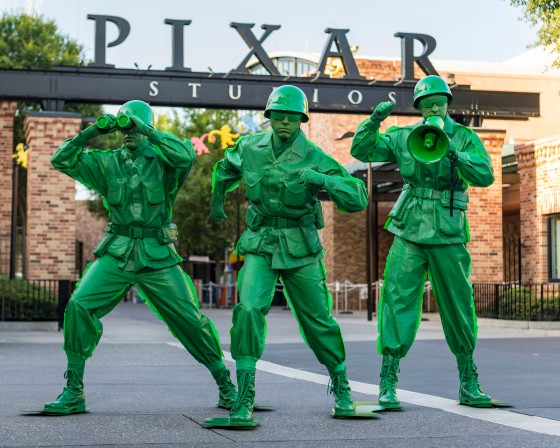 Ten-Hut! Sarge and the Green Army Men March into Disney's Hollywood Studios June 30