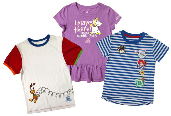 New Toy Story Land Merchandise: Youth Apparel